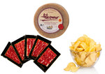 QUESO , JAMON Y PATATAS CHIPS